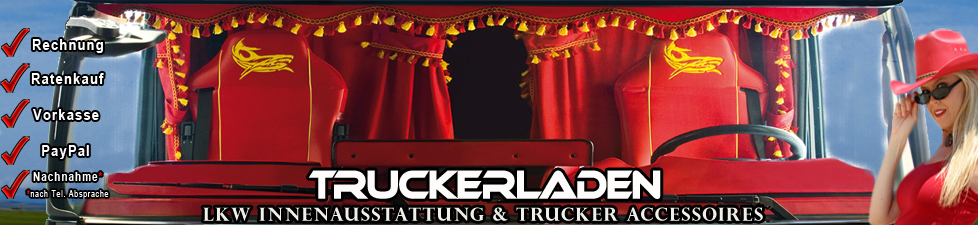 truckerladen lkw innenausstattung lkw zubeh r trucker. Black Bedroom Furniture Sets. Home Design Ideas